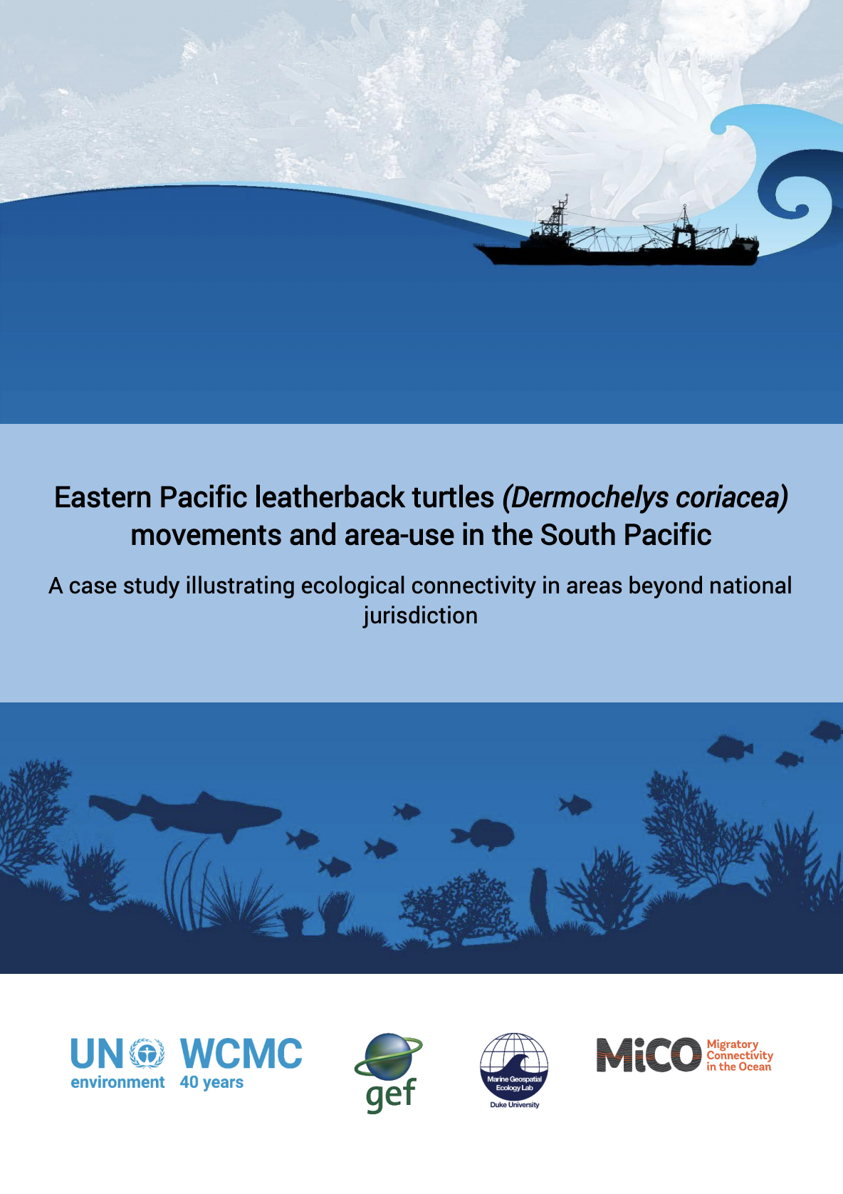Eastern Pacific leatherback turtles (Dermochelys coriacea) movements and area-use in the South Pacific