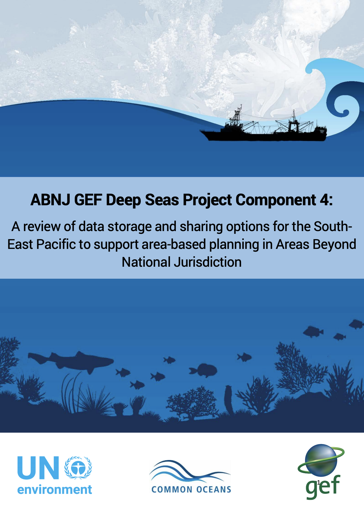 A review of data storage and sharing options for the SouthEast Pacific to support area-based planning in Areas Beyond National Jurisdiction
